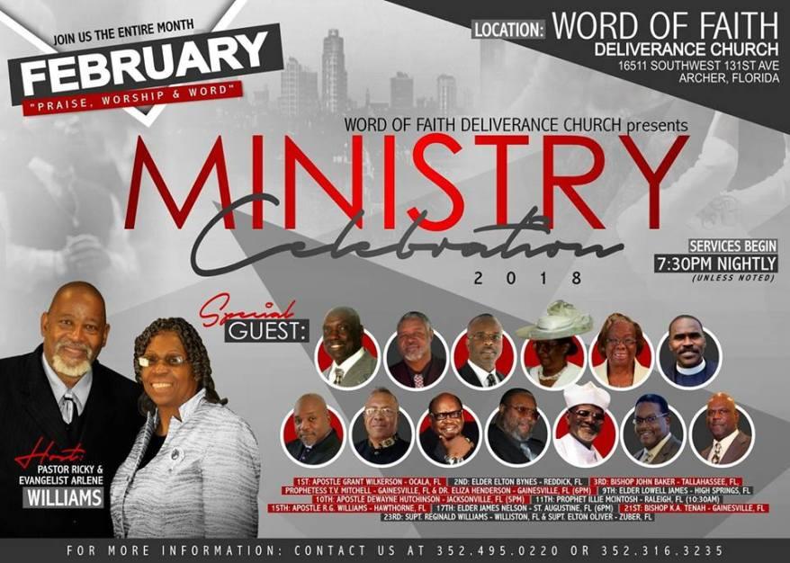 Ministry Celebration