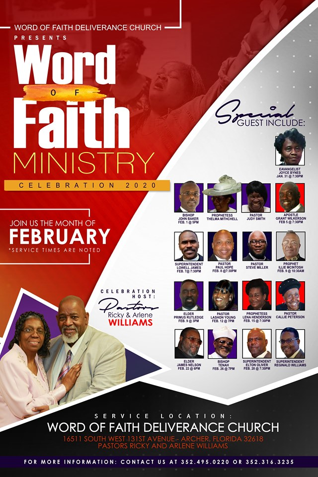 Ministry Celebration 20